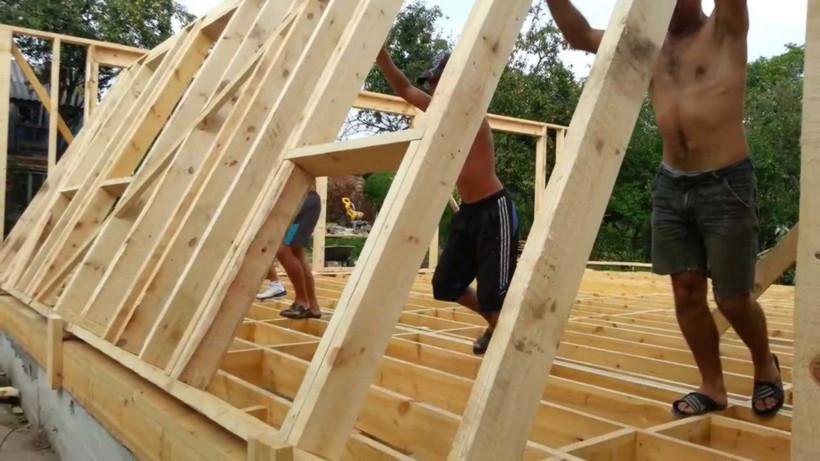Как построить пол в каркасном доме своими руками