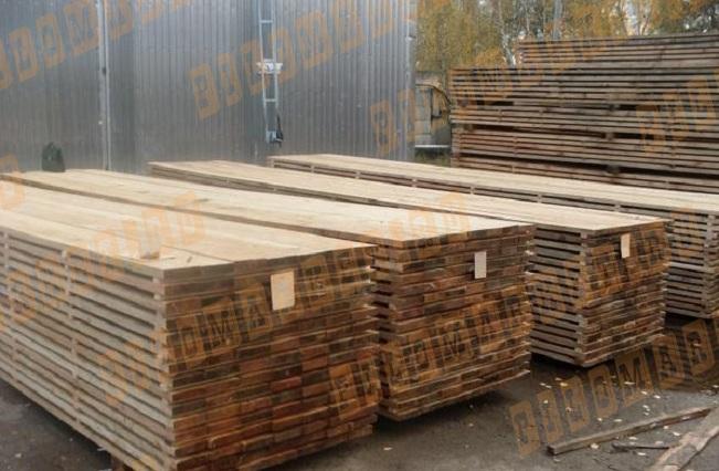 Доска обрезная 25х200 лиственница