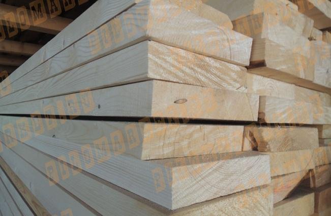 Доска обрезная 50х300 лиственница