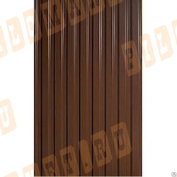 Профнастил С20 коричневый