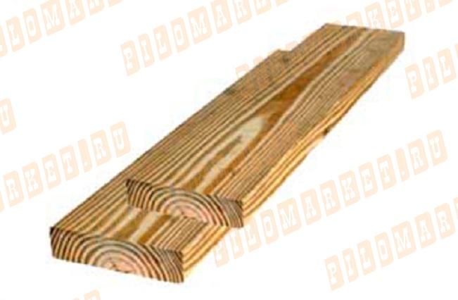 Доска обрезная 50х100 лиственница