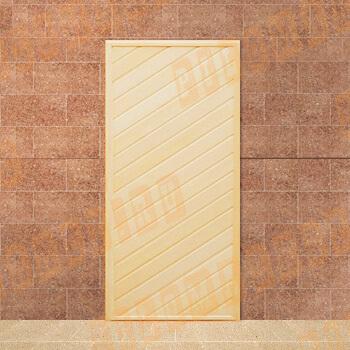 Двери из липы глухая 170-190х70 см