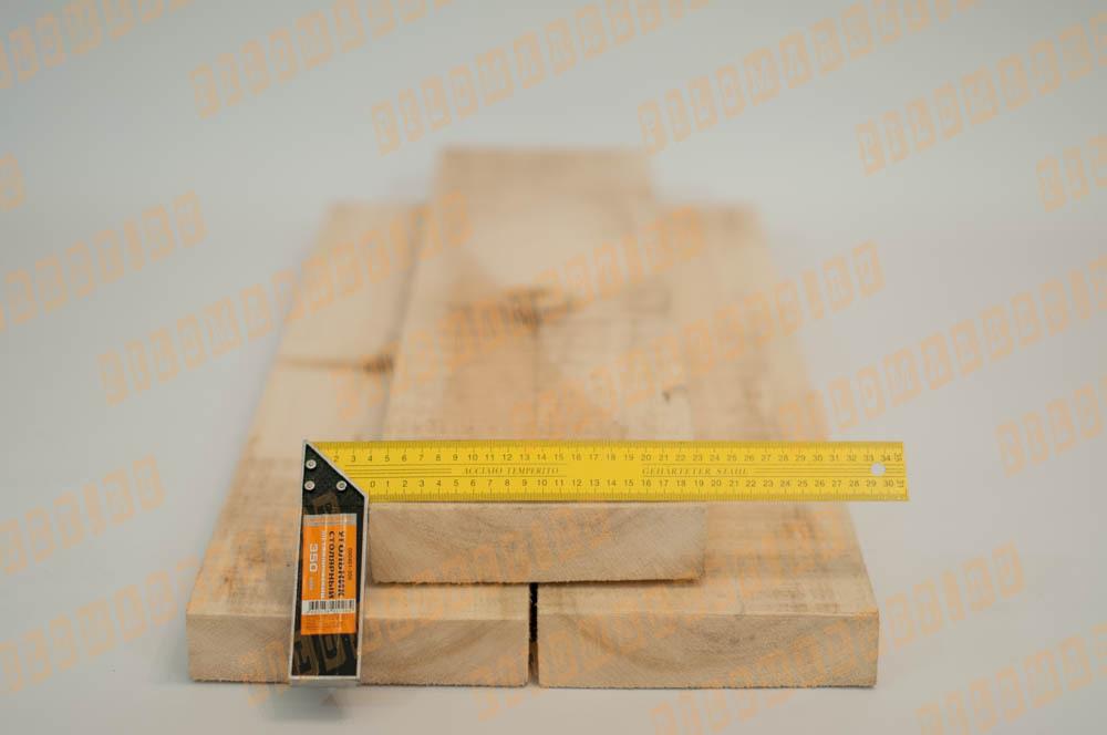Обрезная доска 45 х 190 осина
