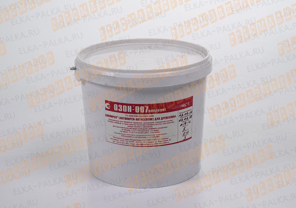Озон-007 антипирен+антисептик для древесины