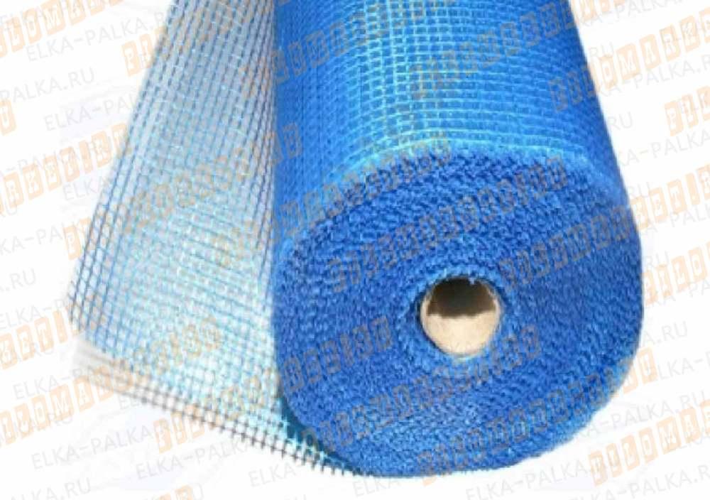 Сетка фасадная синяя