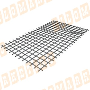 Сетка сварная 50х50х3 мм, размеры 0.5х2 м