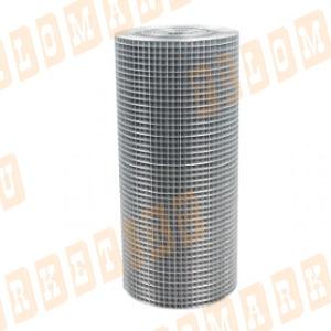 Сетка оцинкованная 10х10х0.6 мм, размеры 1х15 м