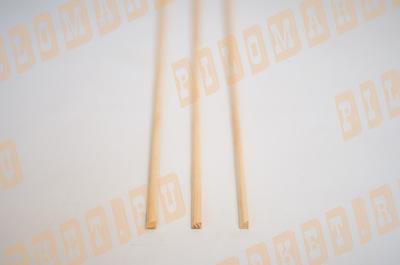 Штапик (полувалик) 15 безсучковый срощенный