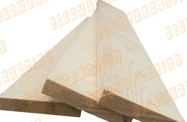 Доска обрезная 50х250 лиственница