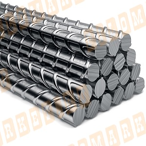 Арматура стальная рифленая А3 500С №25