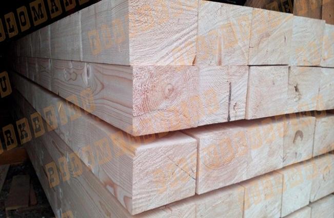 Брус обрезной 150х200 лиственница