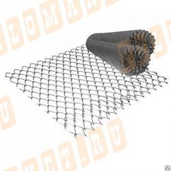 Сетка рабица оцинкованная 28х28х1.6 мм