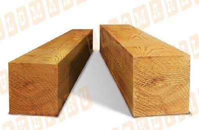 Брус обрезной 150х150 лиственница