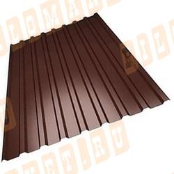 Профнастил С8 коричневый