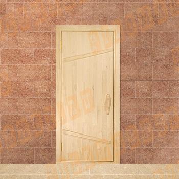 Дверь из массива липы 170-190х70 см