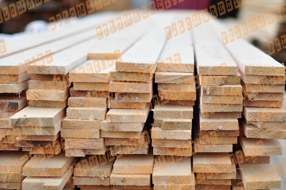 Доска обрезная камерной сушки 25х100