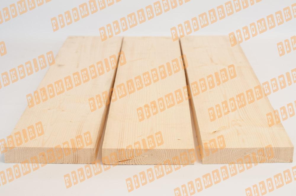 Обрезная доска камерной сушки 40 х 200 ГОСТ