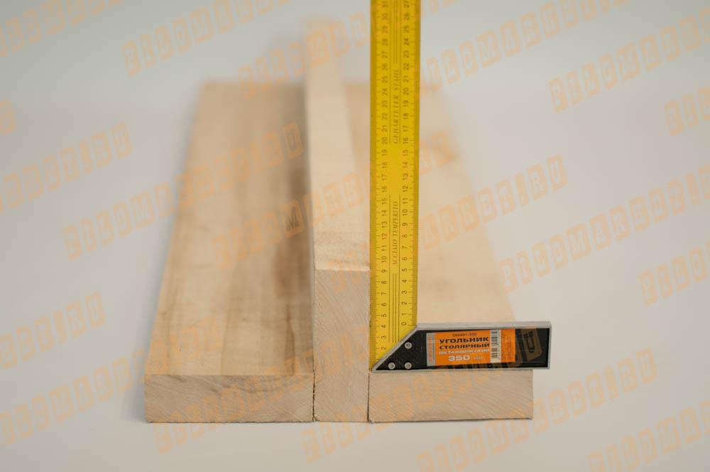 Обрезная доска 45 х 140 осина
