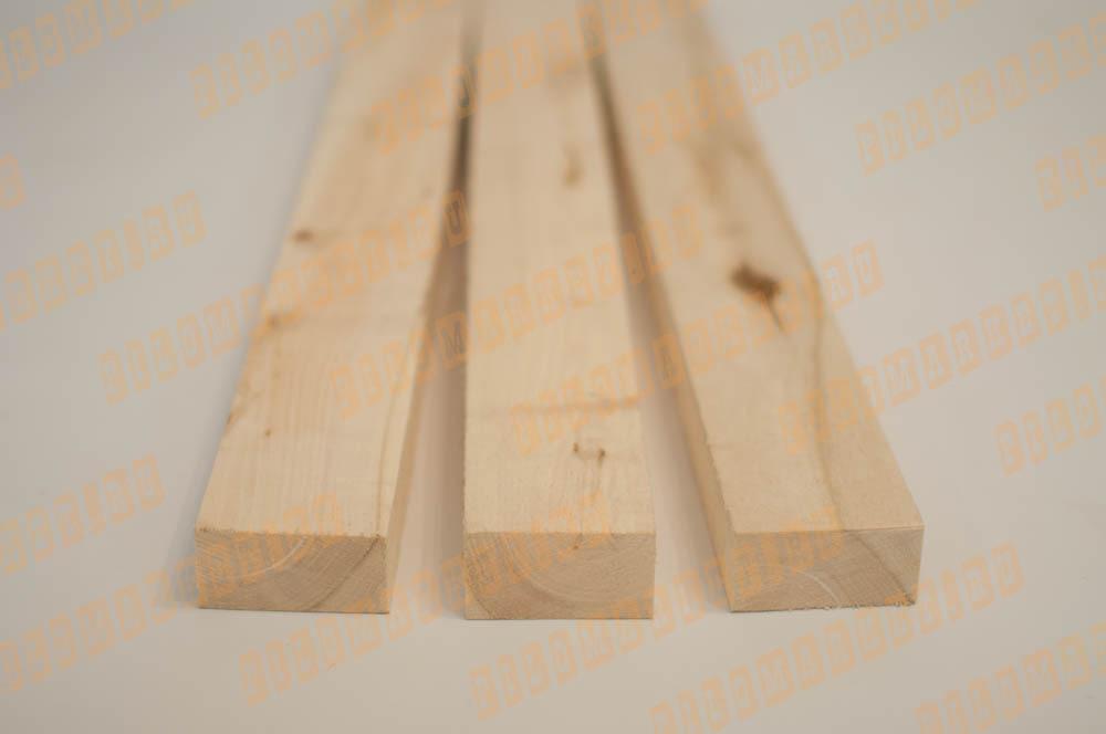 Обрезная доска 45 х 90 осина