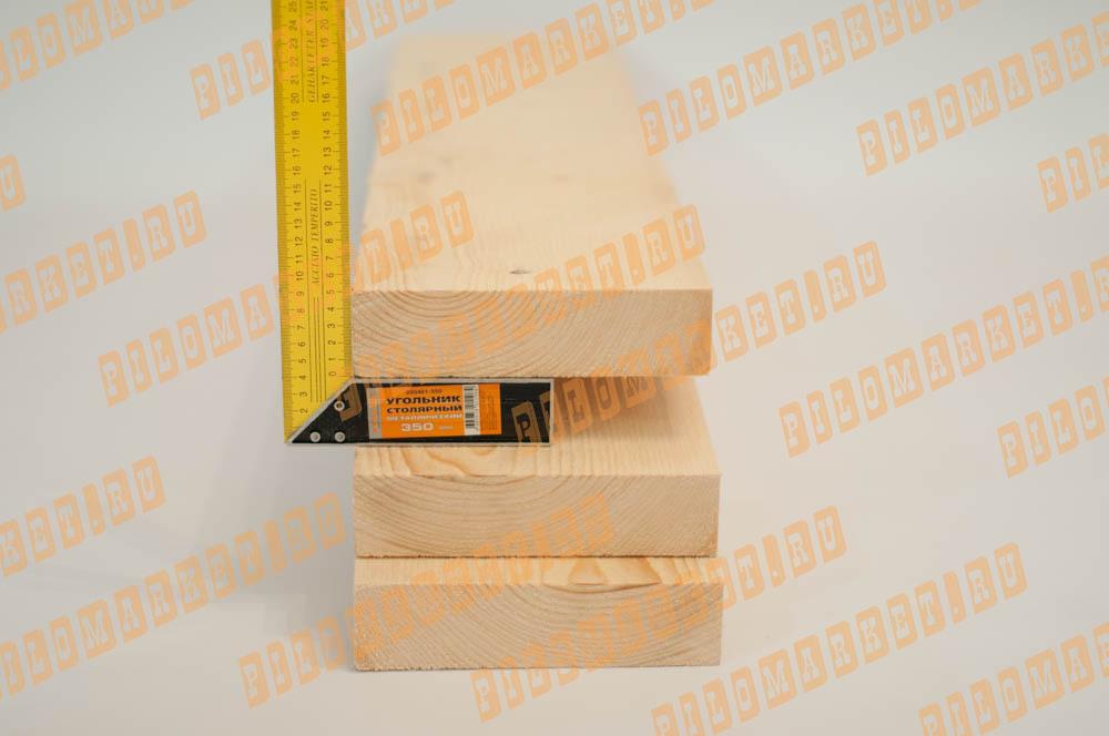 Обрезная доска камерной сушки 50 х 200 ГОСТ