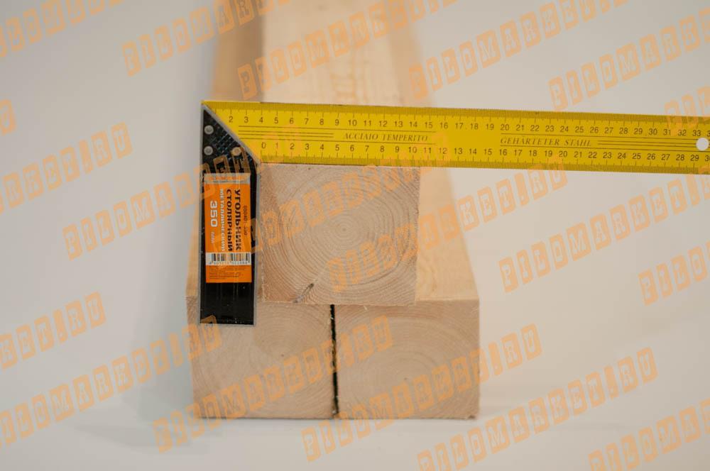 Обрезной брус камерной сушки 100 х 100 1 сорт