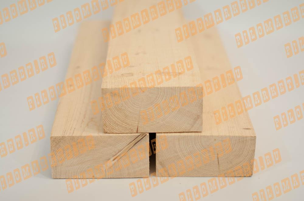 Брус обрезной камерной сушки 100х200