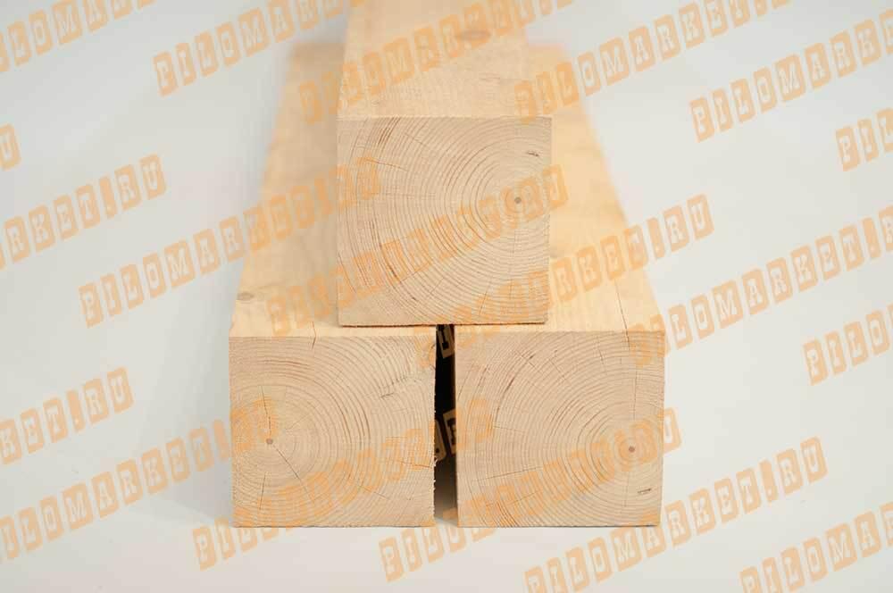 Брус обрезной камерной сушки 150х150